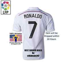 Original REAL MADRID RONALDO No.7 SPANISH LEAGUE 2014/15 HOME JERSEY FOOTBALL
