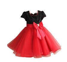 Jeansian Girls Pageant Wedding Bridesmaid Party Princess Dress 10 Colors CG004