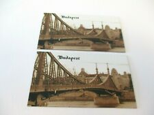 BUDAPEST MAGNETS BEAUTIFUL COLLECTIBLES SOUVENIRS 8 VARIATIONS MAJESTIC VIEWS
