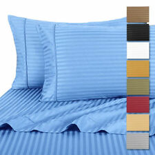 100% Cotton Ultra-Soft Dobby Striped Sheets