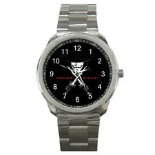 NEW Wrist Watch Sport Analogue Leather Freedom Forever