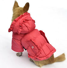 Chihuahua Dog Coat Winter Puppy Clothes for Small Pet Warm XS-XXL 6 size 3 Color