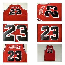 Michael Jordan #23 Basketball Chicago Bulls Jersey Size S-3XL NEW