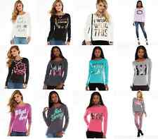NWT Juicy Couture Embellished Graphic French Terry Sweatshirt - Women's