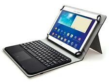 Universal Bluetooth Keyboard case w/Touchpad for 9 10 inch tablet Samsung Galaxy