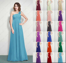 New Bridesmaids Dress Long Prom Dress Evening Party Wedding Gowns Size 6-26
