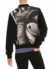 The Nightmare Before Christmas Love Story Girls Bomber Jacket