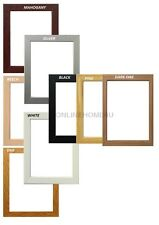 Wooden Effect Picture Poster Painting Photo Frames Stand/hang Many Colors/Sizes