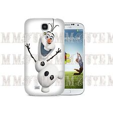 Disney Character Olaf Snow Frozen Case Cover for Samsung Galaxy S3 S4 Mini Note