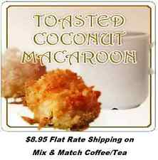 Toasted Coconut Macaroon Flavored Coffee - 1/2 lb - 5 lbs