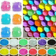 5500pcs Water Plant Flower Jelly Crystal Soil Mud Water Pearls Gel Beads Balls