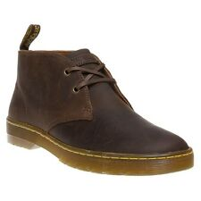 New Mens Dr. Martens Brown Cabrillo Leather Boots Chukka Lace Up