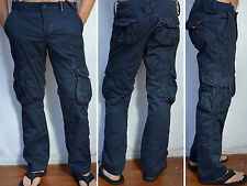 SUPERDRY Men's - NEW CORE - Cargo Lite Pants - Night Blue