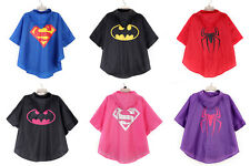 New Kids Rain Coat children Raincoat Rainwear,Kids Waterproof Superhero Rainsuit