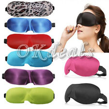 Comfortable Soft Travel Sleep Rest Aid Eye Mask Cover Eye Patch offer Sleep Aids