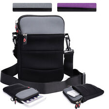 KroO NDR2-6 7 in Convertible Protective Tablet Sleeve and Shoulder Bag Cover