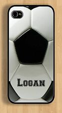 IPHONE 5 6 SOCCER BALL CASE ADD A NAME DESIGN YOUR OWN