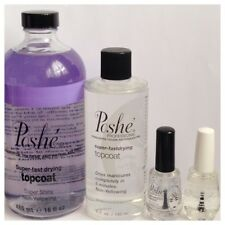 Poshe Fast Drying Top and Base Coat Professional Collection ***VARIOUS SIZES***