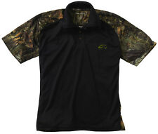 Fishouflage Performance 100% Polyester Bass Fishing Camo Polo S/S Shirt - NEW!
