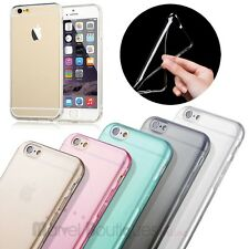 For Apple iPhone 6 Plus 5.5'' Ultra Thin TPU Soft Silicone Clear Skin Case Cover