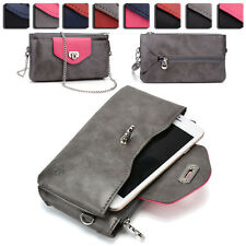 Womens Fashion Wallet Case Cover & Crossbody Purse for Smart Cell Phones EI64-22