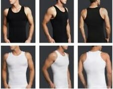 Mens body shaper compression tshirt vest mens slimming shirt