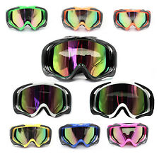 ADULT Goggles Eyewear for Motocross Dirt Helmet Quad Moto Bike UV protection