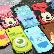 Minnie Mickey Mouse Monster Stitch Silicone Cover Phone Case For HTC Desire 816