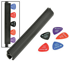 Pick Strip with Plectrums, attach to Microphone Stand, Strip or Plectrums
