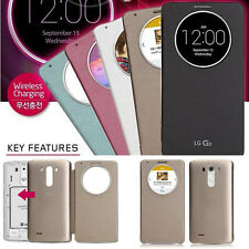 Ultra Slim Quick Circle Clear Window Flip Case Cover For LG Optimus G3 D855 D850