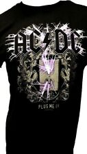 AC DC PLUG ME IN MENS BAND T-SHIRT NEW SIZE SM MED LG XL 2X