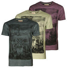 Soul Star Men's Photo Print Cotton T-shirt Graphic Printed NYC New York City