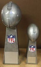 """FANTASY FOOTBALL LOMBARDI TROPHY  14"""" or 9 1/2"""" - FREE ENGRAVING!!"""
