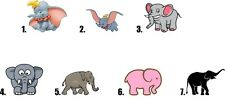 Waterslide Nail Decals Set of 20 - Elephant - you choose