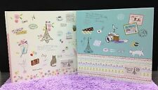 Romantic Style Photo Album Scrapbooking Travel Diary Journal Book Gift Cute Mid
