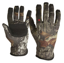 Arctic Shield X-System Lightweight Hunting Gloves Bow Turkey Mossy Oak Camo NEW
