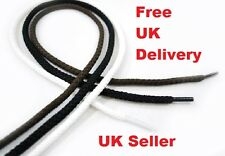 New Strong Flat & Round Thick Shoe Laces Boot String Skate Trainer Shoelaces