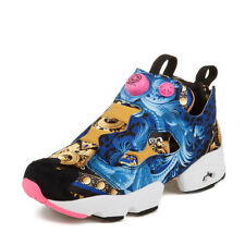 "Reebok Mens Concepts Insta Pump Fury ""20th Anniversary"" Blue/Pink/Yellow M42930"