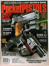 POCKET PISTOLS Magazine 250+ GUNS State By State Carry Laws Top 12 Concealed Gun
