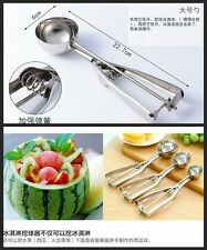 Stainless Steel 6cm Scoop for Ice Cream Mash Potato Food Spoon Kitchen Ball Sale