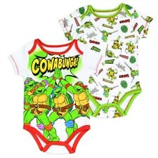 2 PC  NWT BABY BOY CLOTHES TEENAGE MUTANT NINJA TURTLES SZ 0-3, 3-6, 6-9 MONTHS