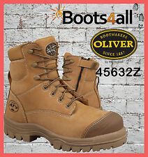New Oliver ATS Work Boots ZIP Safety/Steel Non Metal Toe 45632Z Pre Order