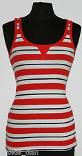 GAP~Woman's Red/White Ribbed Tank Top~Size M, XL ~NWT ~~