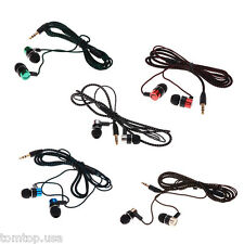 3.5mm In-Ear Earbuds Earphone Headset Headphones For iPhone Samsung MP3 iPod PC
