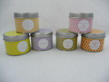 Pintail Fragranced Candle In A Gift Dotty Hearts Tin Multi Fragrances Colours