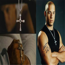 2015 FAST and FURIOUS Vin Diesel Dominic Toretto's Cross Men Pendant Necklace