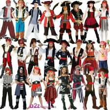 PIRATE CAPTAIN CARIBBEAN BOOK DAY KIDS CHILD PARTY FANCY DRESS COSTUME OUTFIT