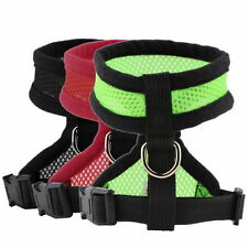 Pet Harness Collar Leash Strap Mesh Dog Cat Adjustable Vest Breathable Puppy WP