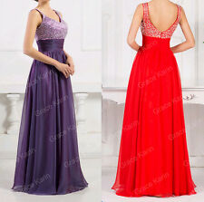 Womens Lace Long Evening Formal Party Cocktail Maxi Dress Bridesmaid Prom Gown