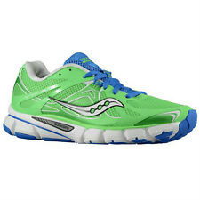 Womens Saucony Mirage 4 Running Shoes Sneakers Green Blue Size 6 Powergrid